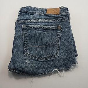 Bullhead Cutoff Blue Jean Shorts